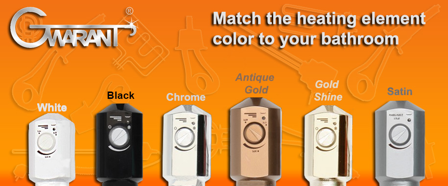 Heating Elements in different colors