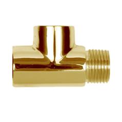 1/2� heater tee gold
