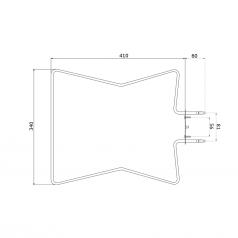 1100W (700,900,1300) type oven